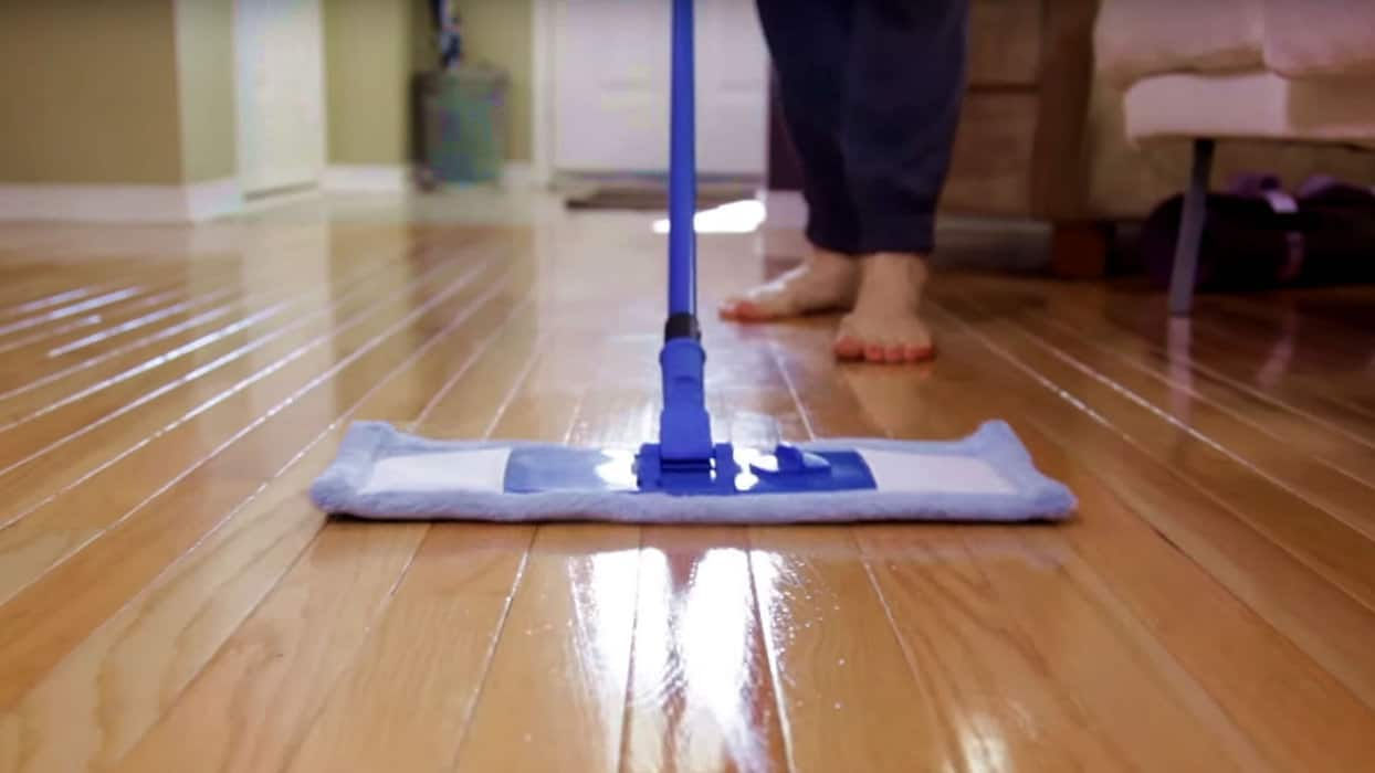 Best Way To Clean Your Hardwood Floor House Cleaning Tip