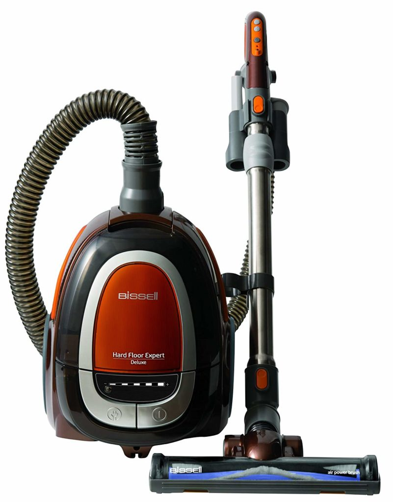 Bissell Deluxe Canister Vacuum Best vacuum for hardwood floors