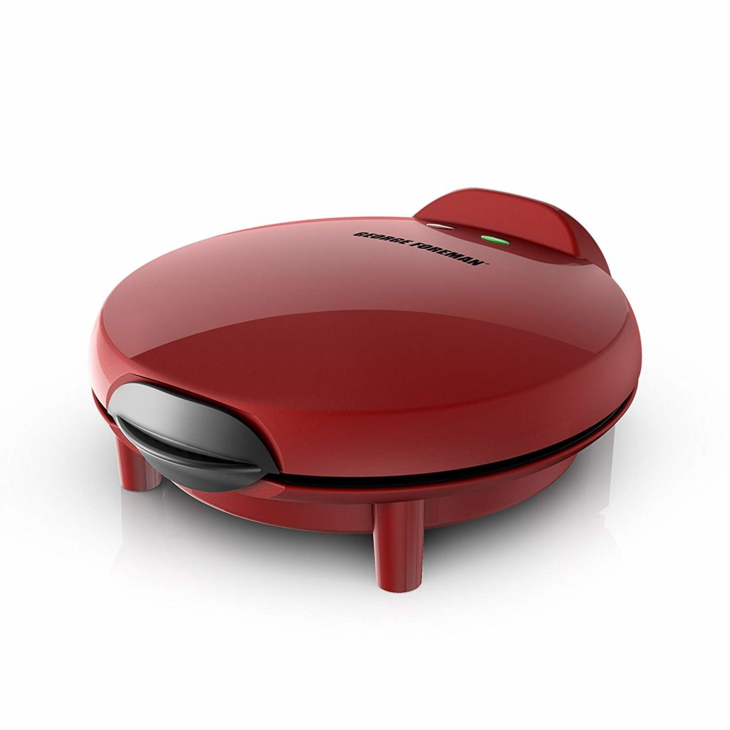George Foreman Electric Quesadilla Maker, Red,