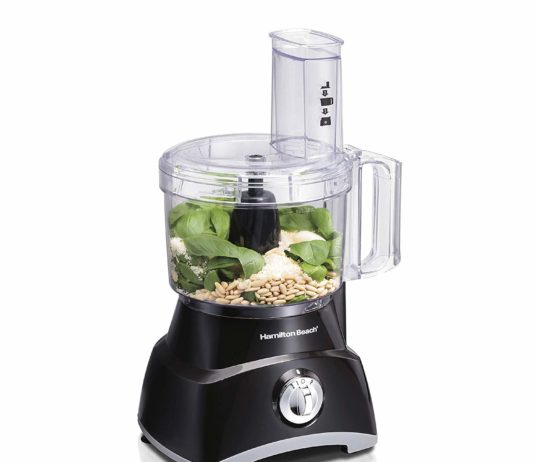 Hamilton Beach 8-Cup Compact Food Processor & Vegetable Chopper