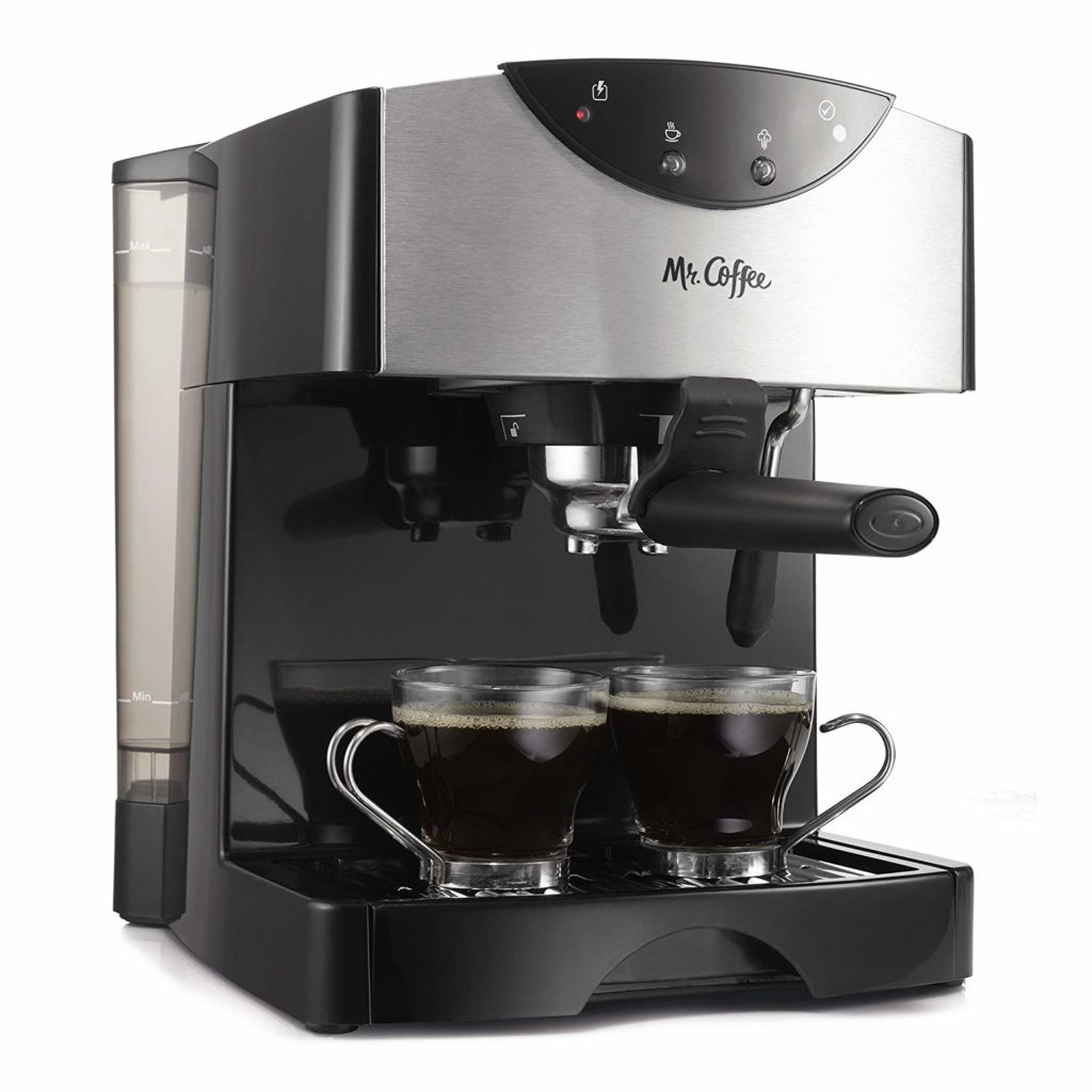 Mr. Coffee 2 Shot Pump Espresso & Cappuccino Maker