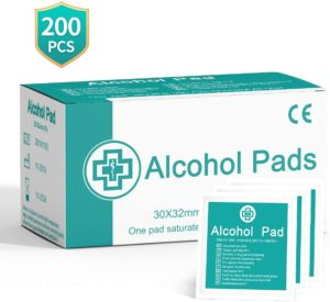 Alcohol Wipes, Individually Wrapped Disposable Alcohol Prep Pads