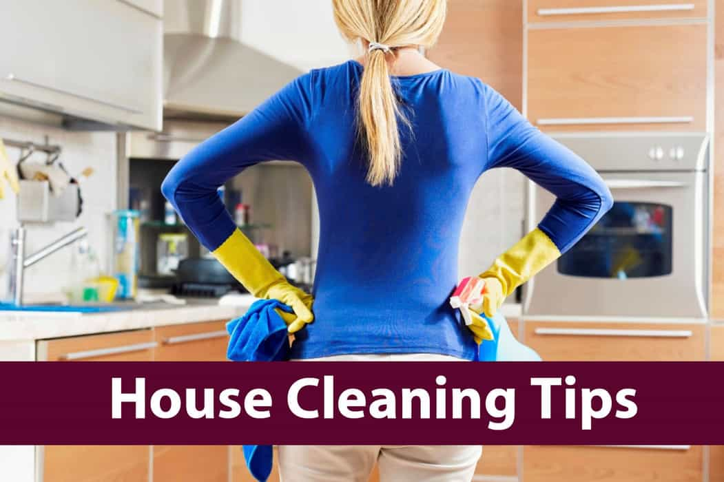 House cleaning tips-