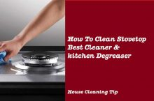 How To Clean Stovetop | Best Cleaner & kitchen Degreaser